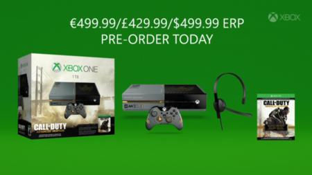 Se anuncia bundle de Xbox One más Call Of Duty: Advanced Warfare