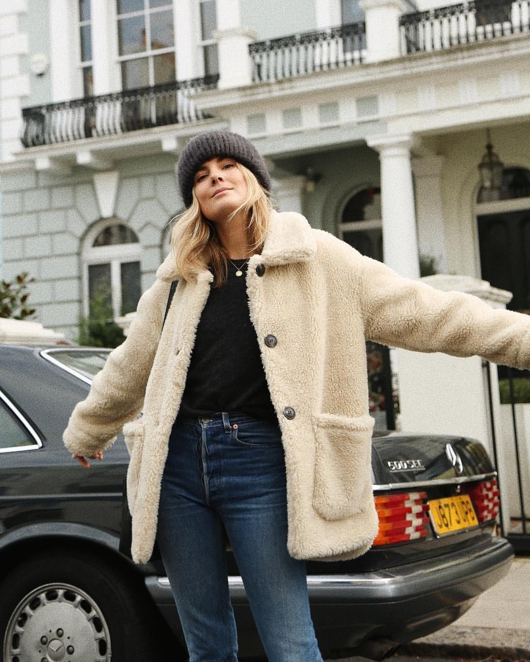 otoño martillo pasos  Tendencias de moda Otoño-Invierno 2018/2019: la invasión de las chaquetas  tipo borrego ha llegado