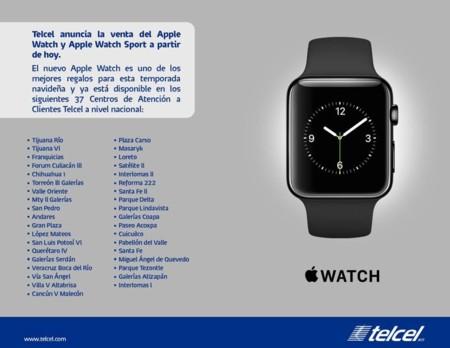 Apple Watch Telcel