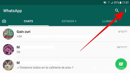 Click Icono Tres Puntos