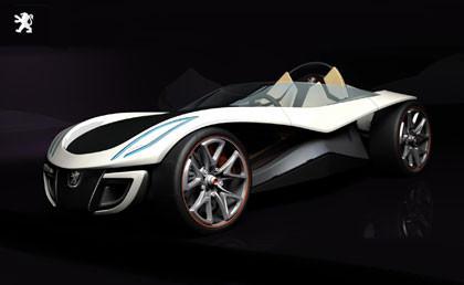 Peugeot Flux Concept, ganador del Concurso de Diseño Peugeot 2007