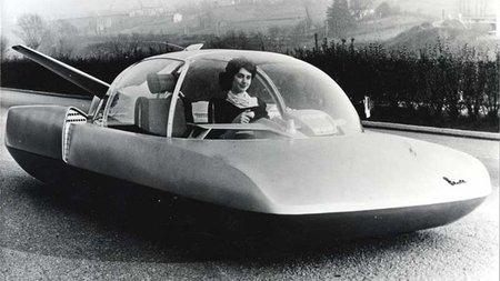 Simca Fulgur Concept, imaginando cómo serían los coches en el año 2000