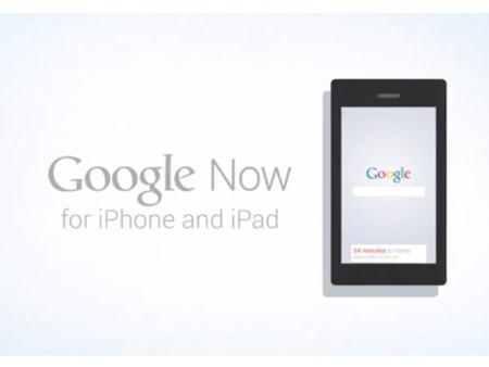 Google Now podría llegar al iPhone y al iPad