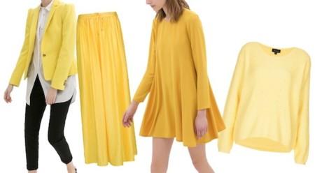 prendas en amarillo