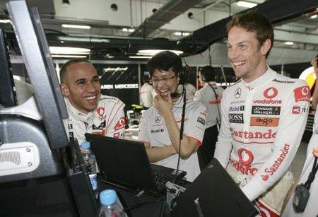 McLaren domina el viernes del Gran Premio de China