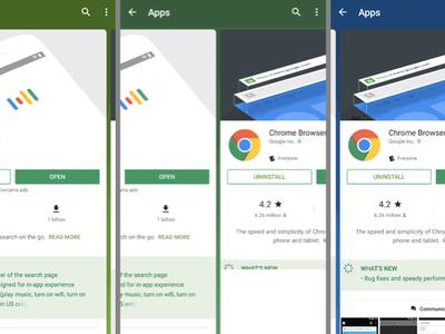 Así es la nueva transición y tarjeta que Google Play está mostrando en los resultados de búsqueda