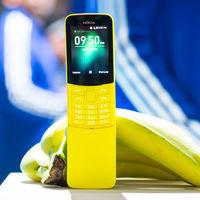 El Nokia 8110 4G llega a España: precio y disponibilidad del móvil con forma de plátano y sistema KaiOS