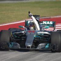 Victoria de Lewis Hamilton como final del espectáculo del GP de Estados Unidos de F1