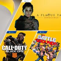 A Plague Tale: Innocence y Call of Duty: Black Ops 4 entre los juegos de PlayStation Plus de julio de 2021