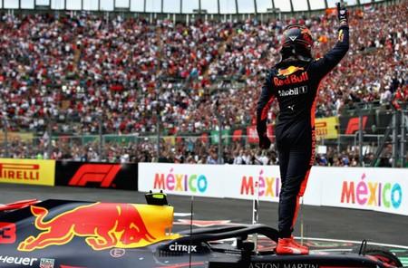 Verstappen Victoria Mexico 2018