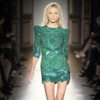 Balmain Ss 2009 Green Dress