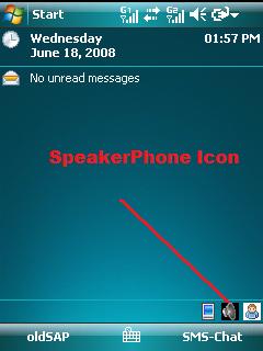 SpeakerPhone, manos libres automático en Windows Mobile