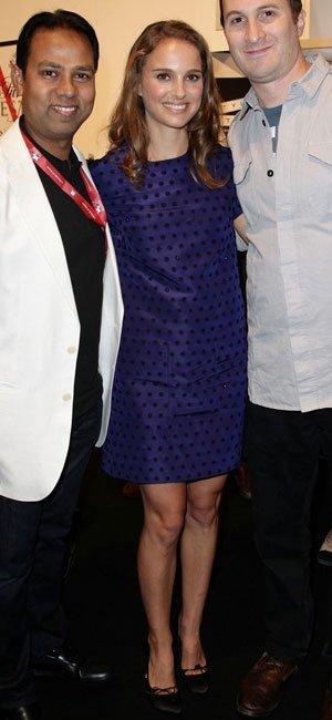 Más looks de Natalie Portman: ahora se apunta a la moda de los lunares