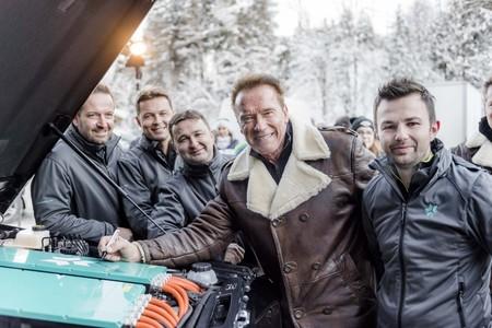 Kreisel convierte el Mercedes-Benz Clase G en un eléctrico, y es idea de Schwarzenegger