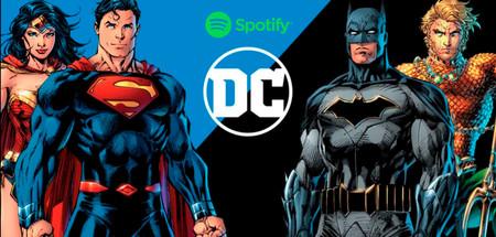 Spotify, Warner Bros. y DC hacen una alianza histórica para crear podcasts exclusivos en la plataforma con los personajes de DC