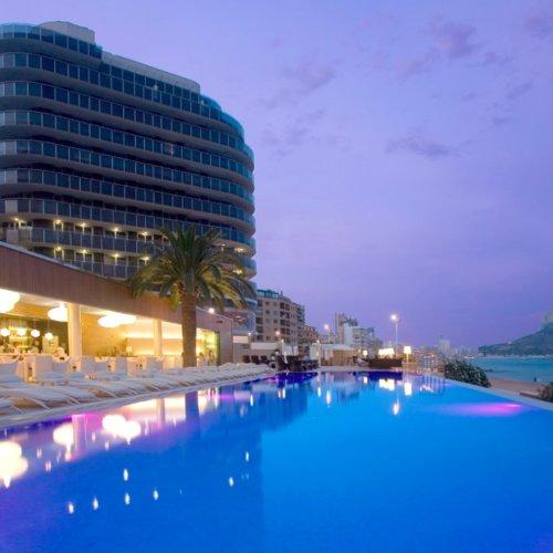 Siete hoteles de playa en espa a for Hoteles en calpe playa