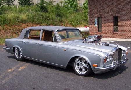 Un Rolls-Royce Silver Shadow a la americana