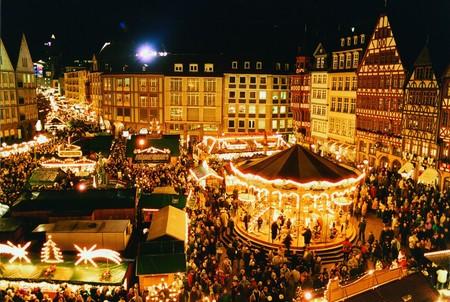 Mercadillo De Navidad De Stuttgart Alemania
