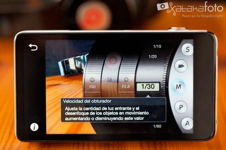 Samsung Galaxy Camera Menu