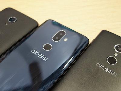 Alcatel Series 1, 3 y 5, primeras impresiones: el futuro de Alcatel tiene formato 18:9