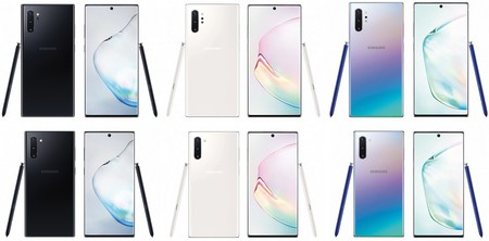 Samsung Galaxy Note 10 Note 10 Plus Colores