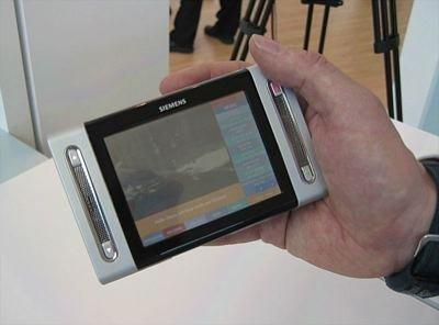Siemens DVB-H también apuesta por la tele