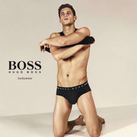 Garrett Neff Hugo Boss Fall Winter 2015 Underwear Campaign 001