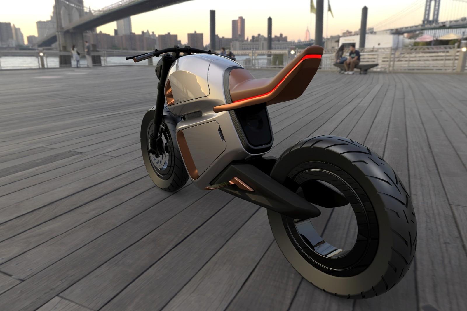 Foto de Nawa Racer: una moto eléctrica híbrida (2/9)