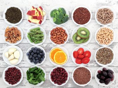 Top 9 de alimentos ricos en fibra