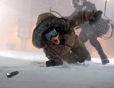 'Whiteout': gotas de sangre sobre la nieve