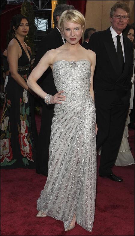 Renee Zellweger Oscars 2008carolina Herrera