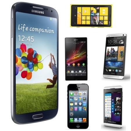 Samsung Galaxy S4 frente a sus rivales más destacados