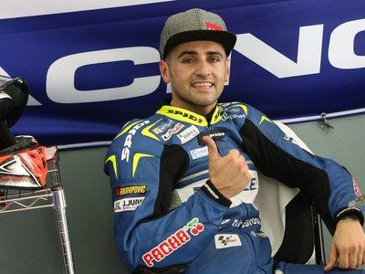 Héctor Barberá se fractura la clavícula izquierda entrenando con la MotoGP