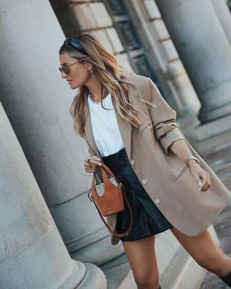 Shorts Blazer Street Style Ss 2021 02