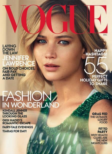 Vogue USA: Jennifer Lawrence