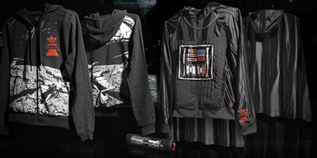 Adidas y Star Wars, la colaboración más espacial de 2010, sudaderas