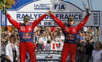Sébastien Loeb gana y se queda a un paso de su 5º título Mundial