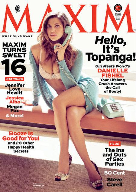 Hola, soy Topanga y vuelvo a las portadas