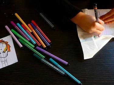 Dibujos infantiles: la imaginación al color