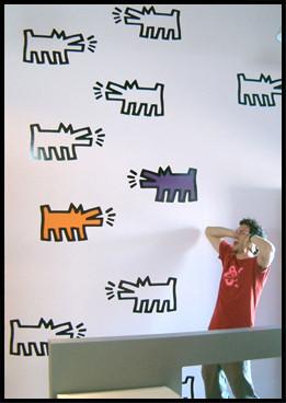Foto de Vinilos de Keith Haring (7/8)