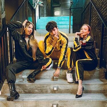 El chándal rollo Kill Bill de Ester Expósito es un desfase y lo firma Frev Clothing