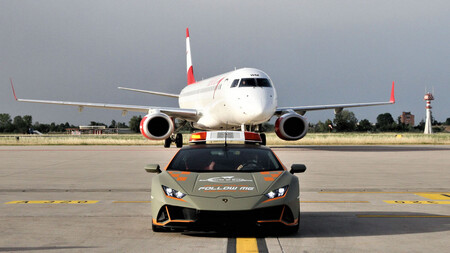 Lamborghini Huracan Evo Aeropuerto Bolonia 2