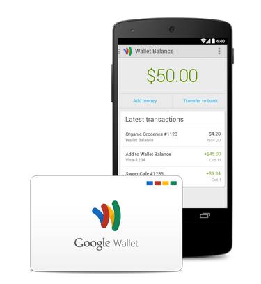 La tarjeta de Google Wallet ya es una realidad en Estados Unidos