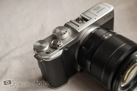 Fujifilm X-M1 controles