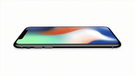 La pantalla OLED que cubre casi todo el frontal del iPhone X