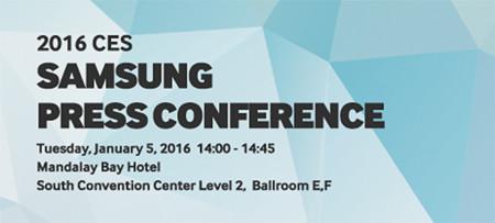 Samsung en el CES 2016, síguelo en directo con nosotros