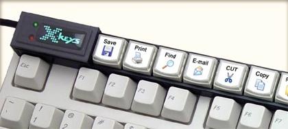 X-Keys Stick USB, el Optimus de baja tecnología