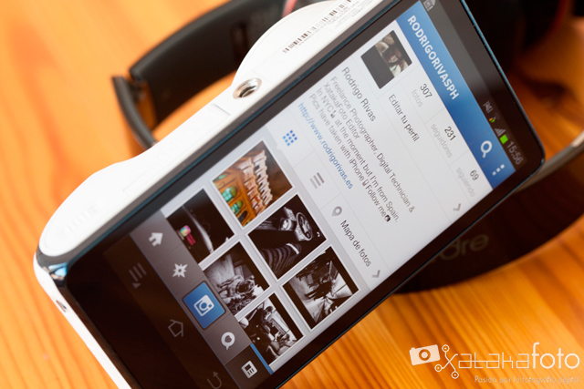 Samsung Galaxy Camera Instagram