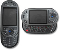 Teléfono Helio con doble teclado