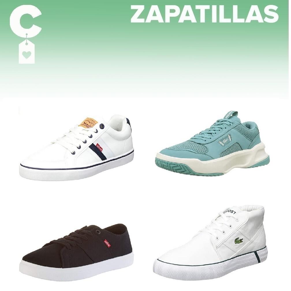 Chollos en tallas sueltas de zapatillas Lacoste, Levi's o Tommy Hilfiger en Amazon